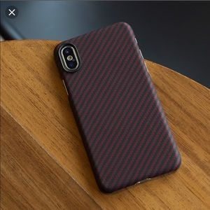 Pitaka iPhone XS Max luxury magnetic phone case.